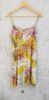 Vestido amarillo flores