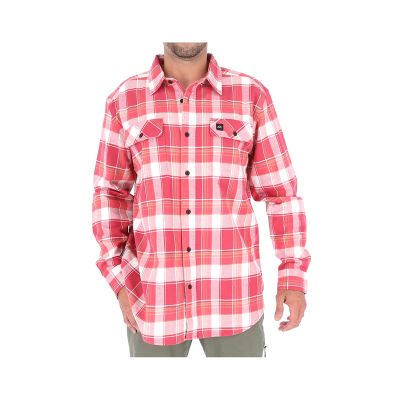 OAKLEY CAMISA FRANELA MANGA LARGA RED1