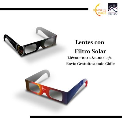 Pack 100 Lentes Orange/Black
