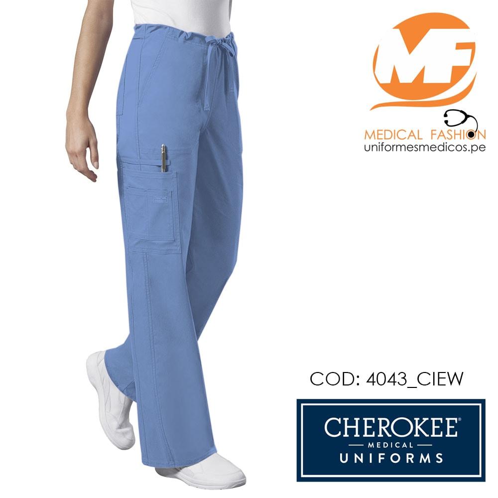 Pantalon Celeste Unisex 4043 Uniformes Medical Fashion
