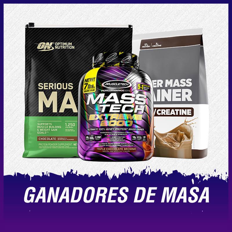 GANADORES DE MASA