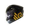 CASCO FHORSE JH-801 FHORSE NEGRO BRILLANTE