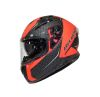 CASCO AREX FURY MR-917 CARBON ROJO