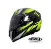 CASCO AREX ABATIBLE MR 701 GRAPHIC AMARILLO
