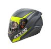 CASCO AXXIS STINGER DIVIDE NEGRO AMARILLO MATE