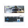 TECLADO PC GAMER WEIBO FC-719 COD.13539 C/LUZ