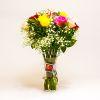 Arreglo de Rosas de Colores y Gypsophilia