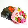 Bouquet  12 rosas de colores