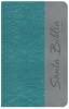 Biblia Letra Grande con Himnario - Turquesa y gris (olas)