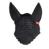 Horze Supreme Silent Ear Net  Black