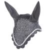 Horze Caesar Ear Net   Dark Grey