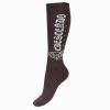 Horze Crescendo Crystal Winter Knee Socks Dark Brown  39/41