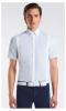 Cotton/Tech Competition S/S Shirt   Light Blue