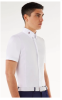 Cotton/Tech Competition S/S Shirt   White  40