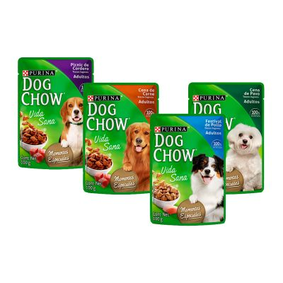 Dog Chow Pouch Adulto 100 Gr1