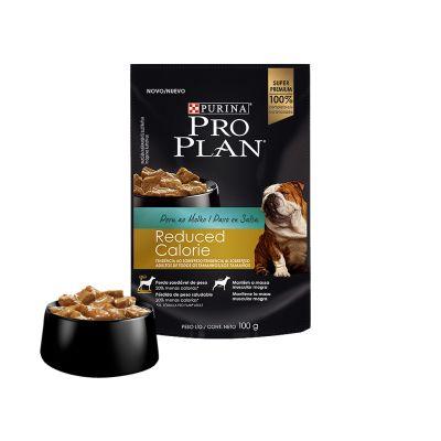 Pro Plan Pouch Reduced Calories 100 Gr Pavo en Salsa1