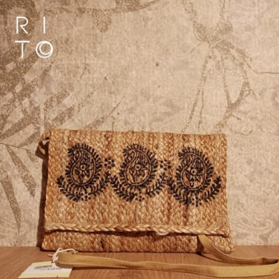 HANDMADE YUTE BAG NATURAL - CRUDO1