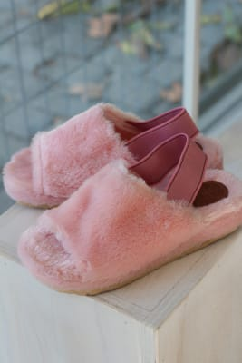 SLIPPERS SPRING PINK1