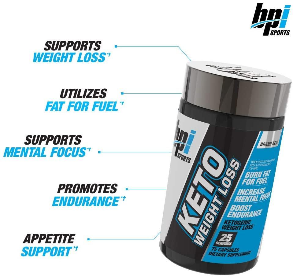Bpi Sports Keto Weight Loss 60 cápsulas | Strongest | Suplementos  deportivos | Nutrición y Fitness
