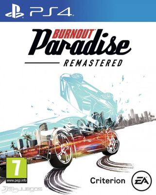 BURNOUT PARADISE REMASTERED  PS41