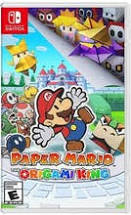 PAPER MARIO THE ORIGAMI KING NSW1