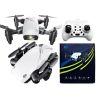 mini drone s9 con camara blanco