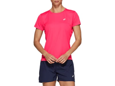 ASICS WOMEN SILVER SS TOP