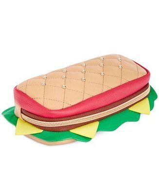 BETSEY JOHNSON HOAGIE ROLL PENCIL CASE MULTI