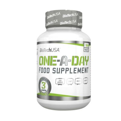 BIOTECH USA ONE-A-DAY FOOD SUPLEMENT (100 TABLETS)