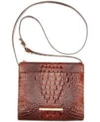 BRAHAMIN MELBOURNE ANYWHERE CROSSBODY PECAN