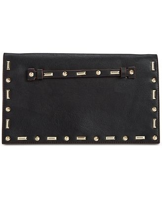INC CARMA STUD CLUTCH BLACK