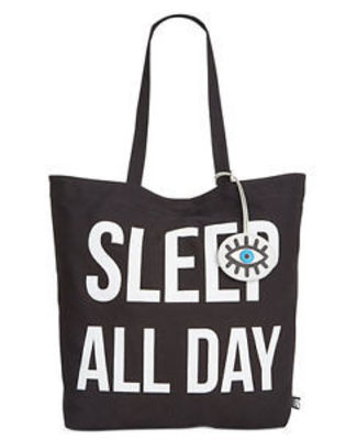 CIRCUS BY SAM EDELMAN TOTE BLACK SLEEP ALL DAY
