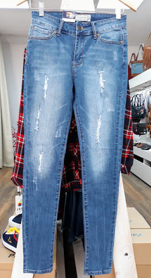 JEANS GRANDLAY`S WOMEN DESTROYED AZUL