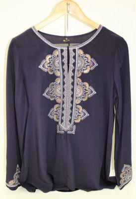 BLUSA LB BORDADA BRILLO INDI