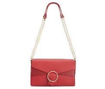 INC GWENN SHOULDER BAG WINE