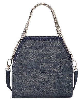 INC MINI KADI DENIM CROSSBODY DENIM METALLIC