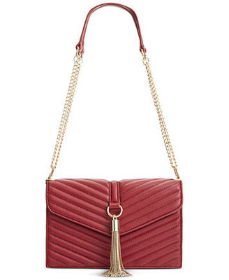 INC YVVON SHOULDER BAG WINE