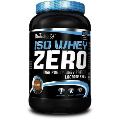 BIOTECH USA ISO WHEY ZERO PROTEIN DRINK POWDER WITH SWEETENERS (36 SERVINGS)