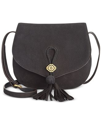 NANETTE LEPORE ANA SADDLE FLAP CROSSBODY