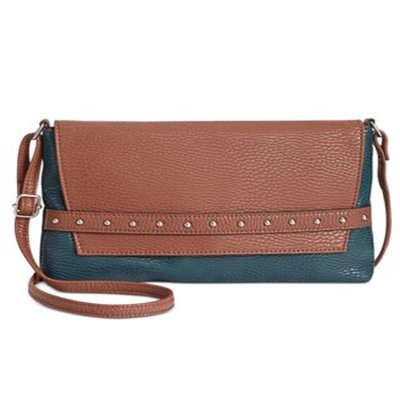 STYLE & CO SHAUNEE FLAP CROSSBODY LUGGAGESTORM