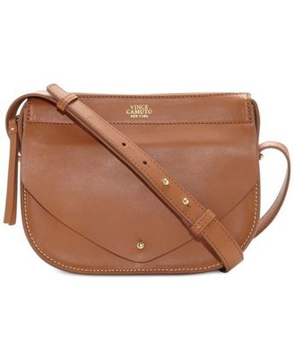 VINCE CAMUTO AUDEN SMALL CROSSBODY WHISKEY