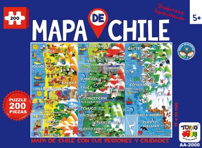 Puzzle Mapa de Chile1