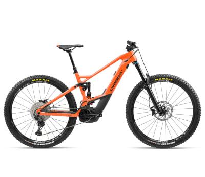 Bicicleta Wild FS M10 2021 Naranjo/negro1
