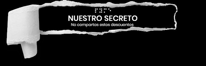 Nuestro Secreto logo header