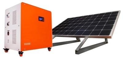 GENERADOR SOLAR MOVIL 1500W PLUS SOLBOX1