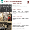 Pack 4 charlas: La Guerra Civil 18911