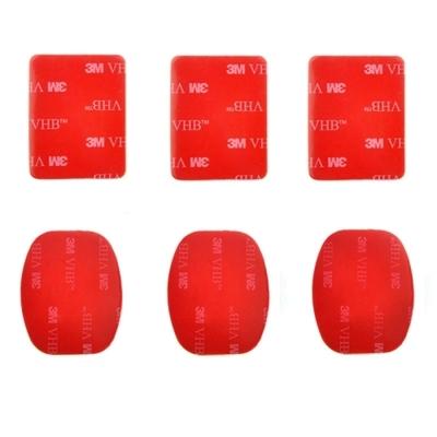 Adhesivos De Repuesto Para Soporte Camaras Deportivas
