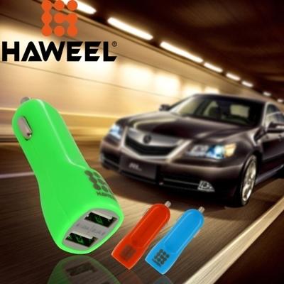Adaptador AC de Automovil 3.1A marca Haweel