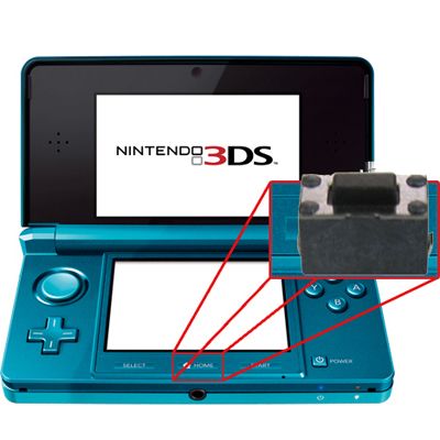 Switch de Botón Home 3DS