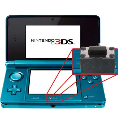 Switch de Botón Home 3DS